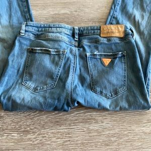Guess Nicole light wash bootcut jeans